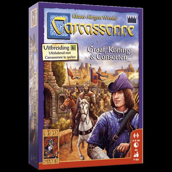 Carcassonne: De graaf, koning & consoorten