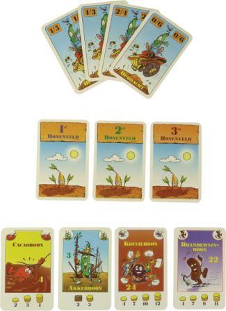Boonanza de uitbreiding, 999 games, speelkaarten