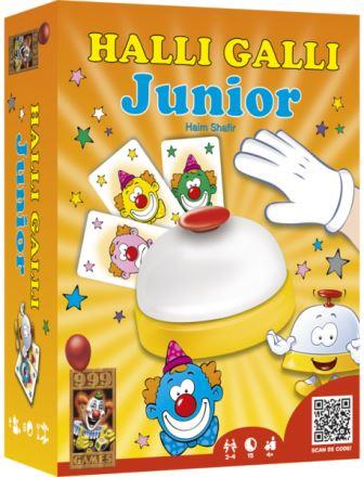 Halli Galli junior, 999 games, doos