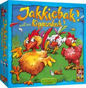 Jakkiebak! Kippenkak!, 999 games, doos