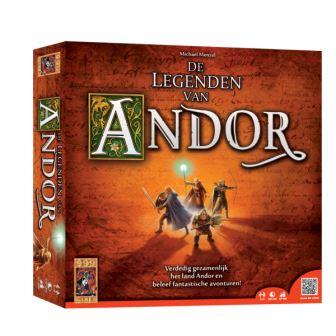 De Legende van Andor, 999 gemes, doos