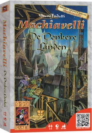 Machiavelli uitbr. De donkere Landen, 999 games, doos