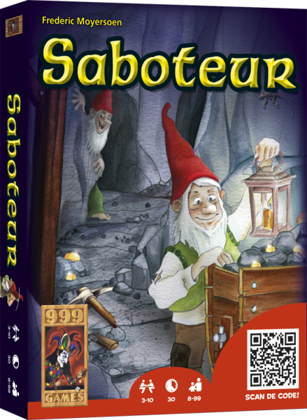 Saboteur, 999 games, doos
