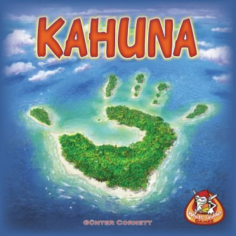 Kahuna, White Goblin Games, doos