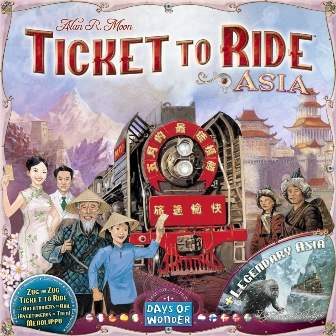 Ticket To Ride Map Collection Asia, Days of Wonder, doos