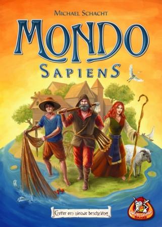 Mondo Sapiens, White Goblin Games, doos