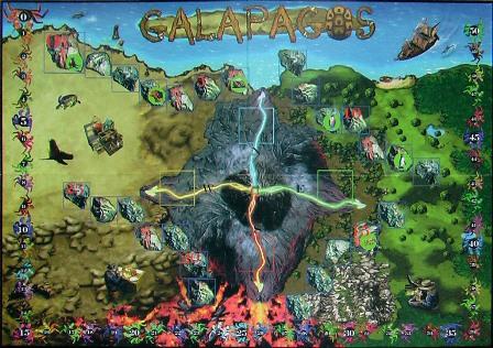 Galapagos, White Goblin Games, speelbord
