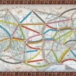 Ticket To Ride, Days of Wonder, speelbord