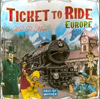Ticket To Ride Europe, Days of Wonder, doos