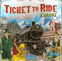Ticket To Ride Europe, Days of Wonder, doos