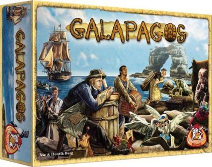 Galapagos, White Goblin Games, doos