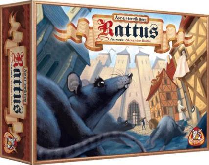 Rattus, White Goblin Games, doos