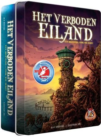 Het Verboden Eiland, White Goblin Games, doos