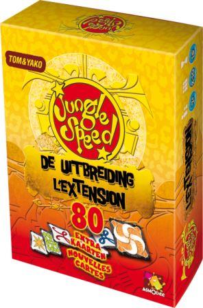 Jungle Speed Uitbreiding, Asmodee, doos