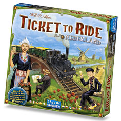 Ticket To Ride Map Collection Nederland, Days of Wonder, doos