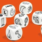 Rory's Strory Cubes - oranje, vertelstenen