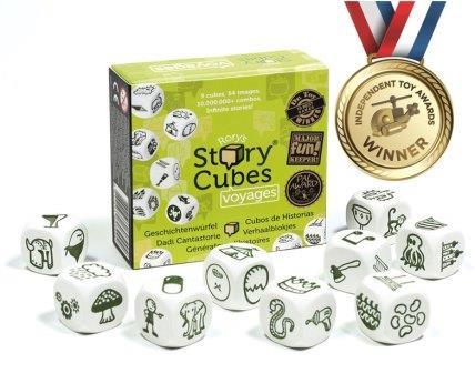 Rory's Story Cubes - groen, vakantie, spelinhoud
