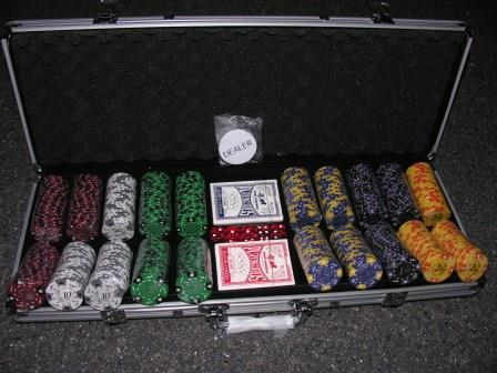 Poker: Ace King 500 set