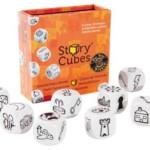 Rory's Strory Cubes - oranje, spelinhoud