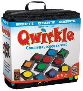 Qwirkle Reiseditie, 999 Games, verpakking