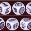 Story Cubes - clues, dobbelstenen overzicht