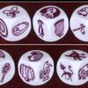 Rory's Story Cubes - enchanted, dobbelstenen overzicht