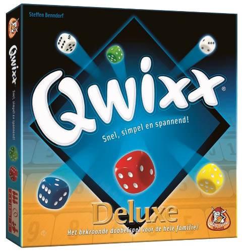 Qwixx Deluxe, White Goblin Games, doos