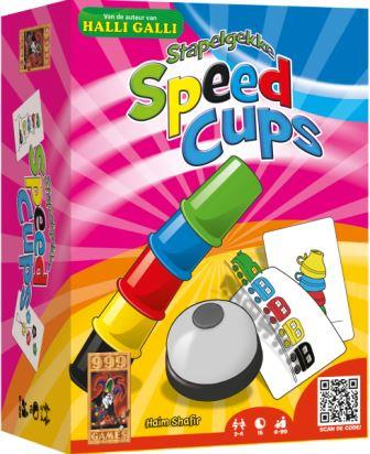 Stapelgekke Speed Cups, 999 Games, doos