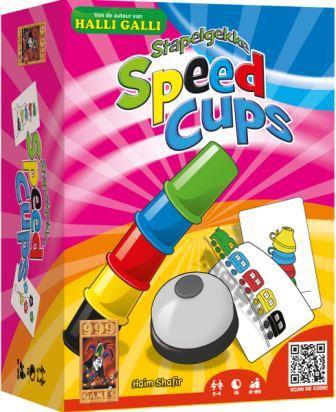 Stapelgekke Speed Cups, 999 Games, doos