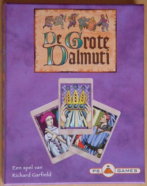 De Grote Dalmuti, PS Games, doos