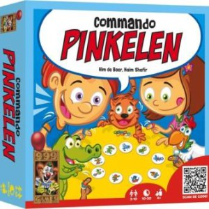 Commando Pinkelen!, 999 Games, doos