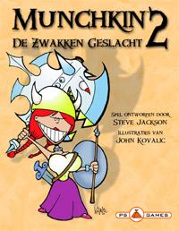 Munchkin 2 De Zwakken geslacht, PS Games, doos