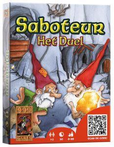 Saboteur Het Duel, 999 Games, doos
