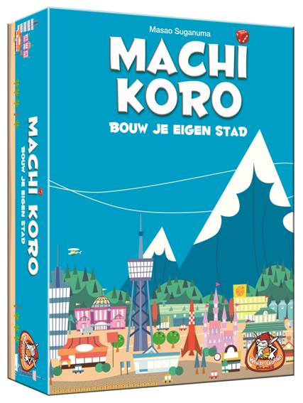Machi Koro, White Goblin Games, doos