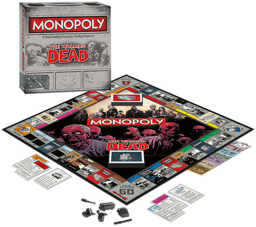 Monopoly The Walking Dead, spelinhoud