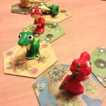 Dino Racen Intrafin, spelsituatie