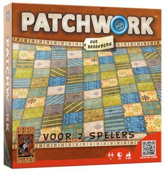 Patchwork, 999 Games, doos