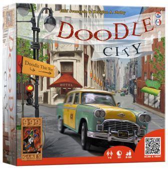Doodle City, 999 Games, doos