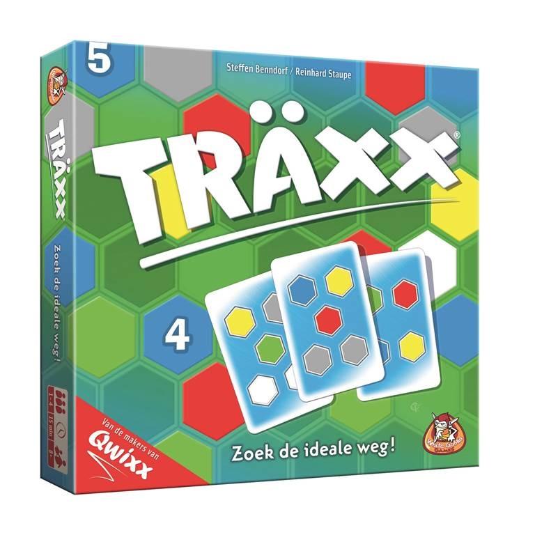 Träxx, White Goblin Games, doos