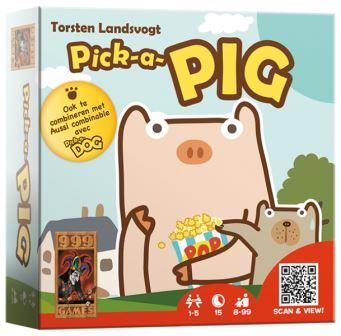 Pick-A-Pig, 999 Games, speelmateriaal