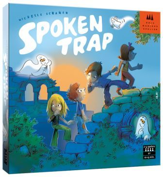 Spokentrap, drie magier Spiele, doos