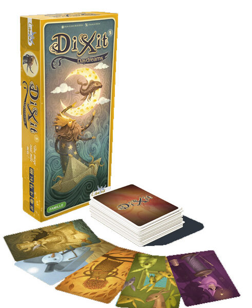 Dixit uitbr. 5 Day Dreams, Libellud
