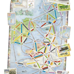 Ticket To Ride map Collection United Kingdom + Pennsylvania