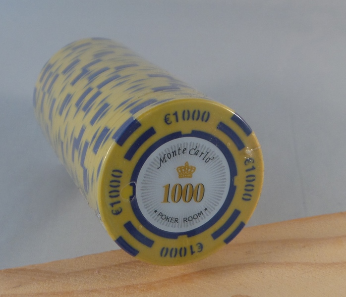 Pokerchips € 1000,00 Monte Carlo
