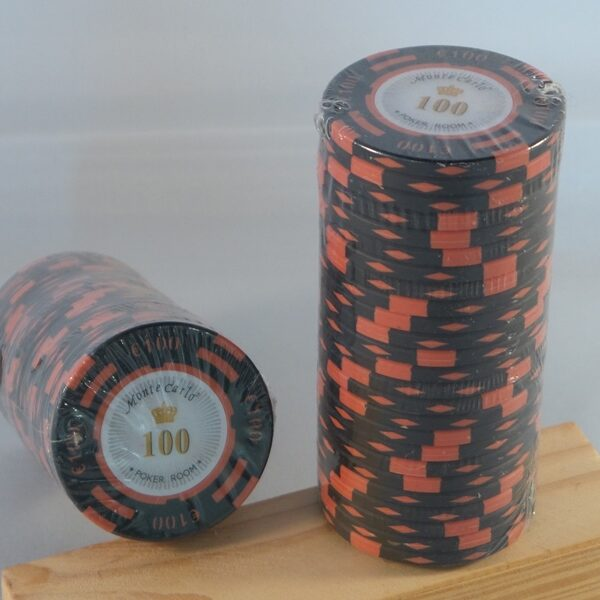 Pokerchips € 100,00 Monte Carlo