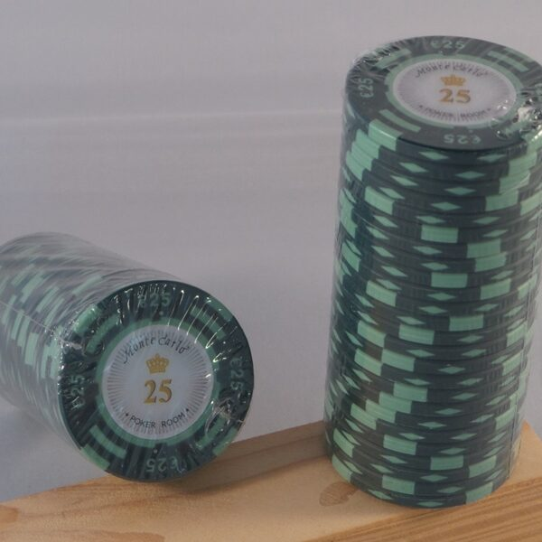 Pokerchips € 25,00 Monte Carlo
