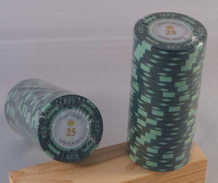Pokerchips € 25,00 Monte Carlo