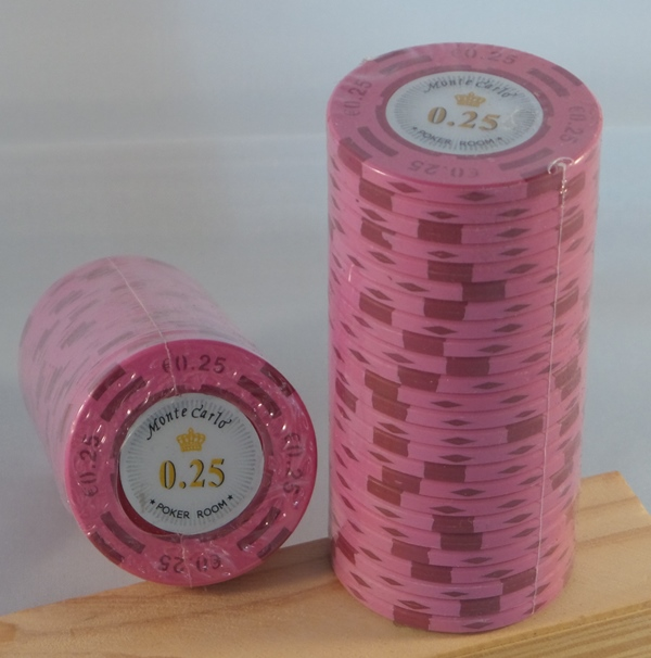 Pokerchips € 0,25 Monte Carlo