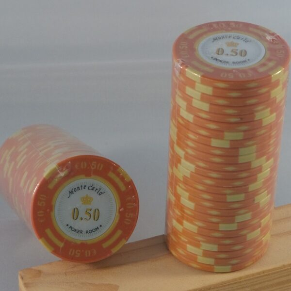Pokerchips € 0,50 Monte Carlo