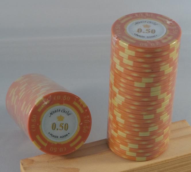 Pokerchips € 0,50 Monte Carlo